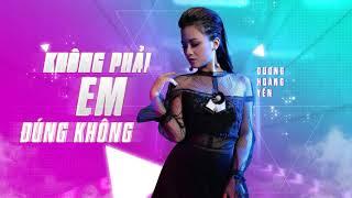 Không Phải Em Đúng Không (Mastro Remix) | Dương Hoàng Yến | Lyric Video