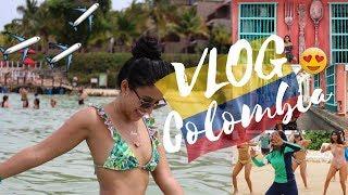 VLOG COLOMBIA!! ME FUI A CARTAGENA!! /Luli