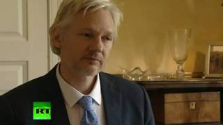 Assange - Facebook, Google, Yahoo are Spying Tools