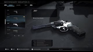 How to unlock Ammunition Slot and Snake Shot for .357 Pistol! Call of Duty Modern Warfare