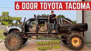 I BOUGHT A 6 DOOR V8 Toyota Hilux!