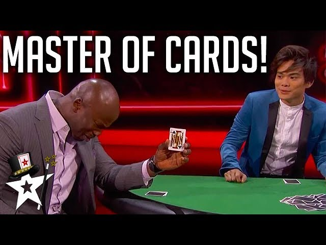 Shin Lim Performs Incredible Magic with Tyra Banks, Matt Iseman, and Akbar Gbaja-Biamila