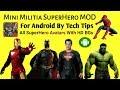 Mini Militia SuperHero MOD by Tech Tips Mini Militia Avenger MOD Justice League MOD Infinity War MOD