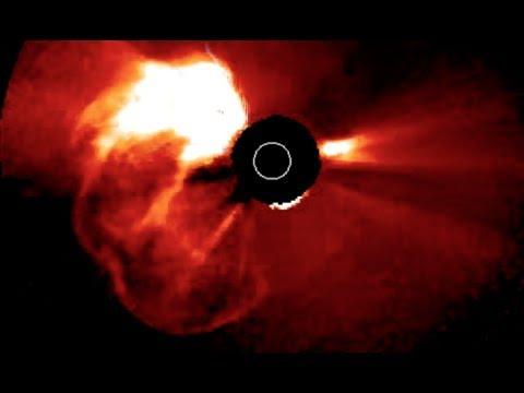 Solar Killshot Erupts... at Mars   S0 News July.23.2017