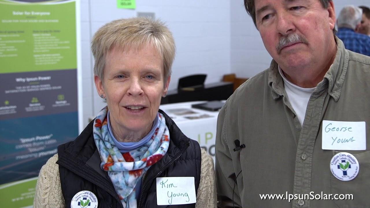 Kim and George are happy Ipsun Solar customers