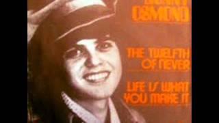 Donny Osmond - The Tweltfh Of Never