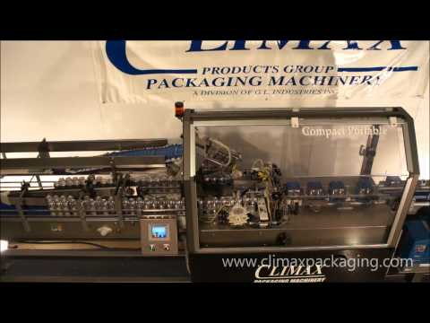 Climax Packaging Machinery M-Packer Can cartoner sold by Climax Packaging Machinery