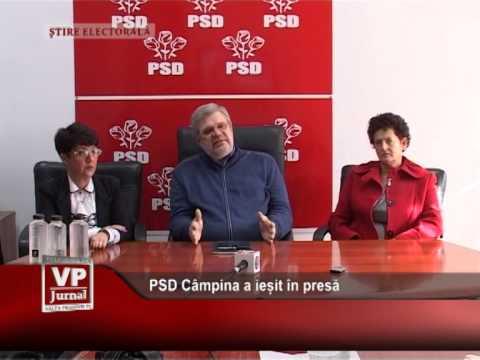 PSD Câmpina a ieșit în presă