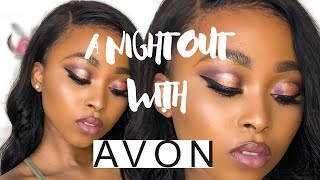 A Night Out Look Ft #Avon Hero Products