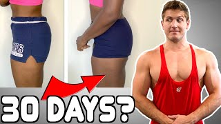 As/Is Does 100 Squats A Day For 30 Days || MY RESPONSE