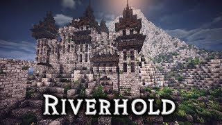 Minecraft Castle Riverhold Ep2 Starting On The Interior Layout