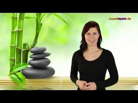 Videobeschreibung der Fototapete Spa & Basalt Stones von supertapete.de
