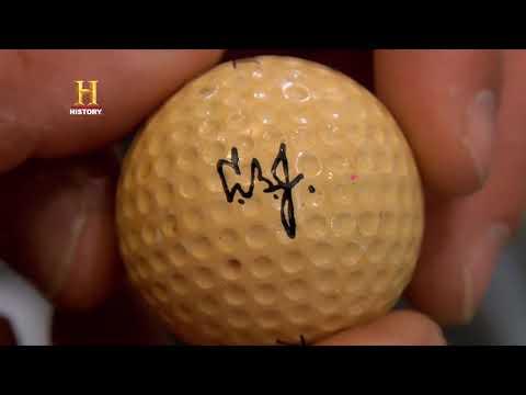 EL PRECIO DE LA HISTORIA - La pelota de golf del presidente