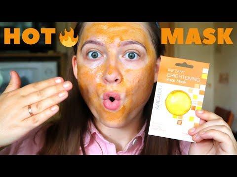 Натуральная маска с разогревающим эффектом для сияния кожи / iHerb / Andalou Naturals