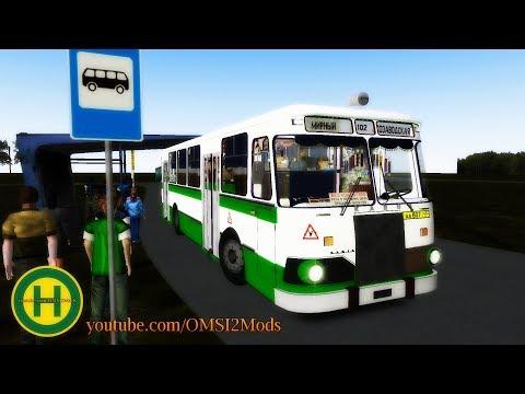 OMSI 2 - Omutninsk Map SU LiAZ 677 Restyling - OMSI 2 Bus Simulator