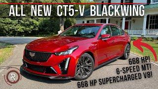 [Redline Reviews] The 2022 Cadillac CT5-V Blackwing Is The Last Performance V8 Manual Super Sedan