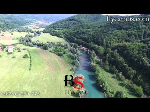 Rijeka Sana, Ključ 2015. godine - snimak iz zraka