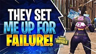 THEY SET ME UP FOR FAILURE! Feat. Aydan, Dr. Lupo, & GronKy