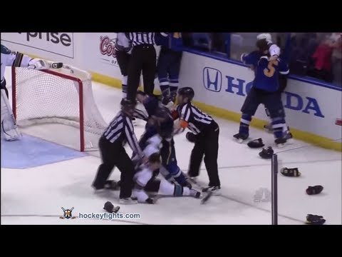 Barret Jackman vs. Douglas Murray