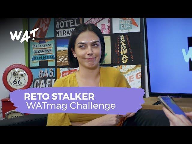 Le medimos el nivel stalker de influencers a María Valero | WATmag Challenge