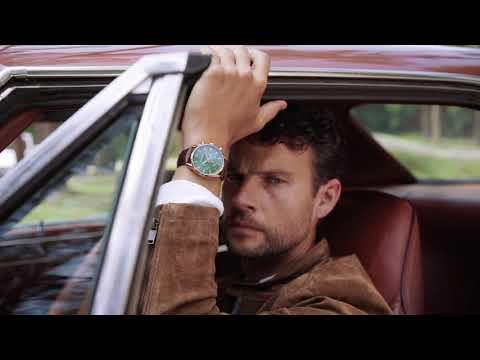 Mats Meier Grand Cornier chronograaf herenhorloge zwart / bruin