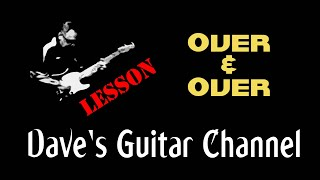 LESSON - Over and Over by Joe Walsh