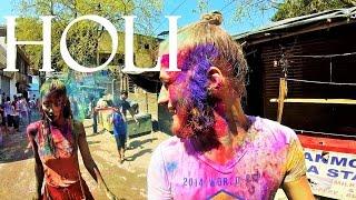 Потрясающий праздник фестиваль красок Холи в Индии|Незабываемый праздник|Тонны красок|Holi | India