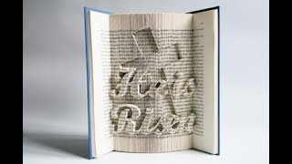 Book Folding Pattern - He Is Risen