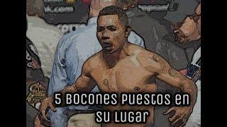 Video 5 boxeadores bocones puestos en su lugar MP3, 3GP, MP4, WEBM, AVI, FLV September 2019