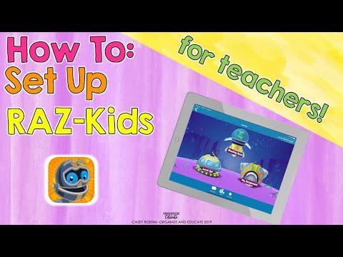 Setting up RAZ Kids (teachers)