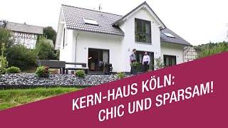 Marco Pafla von Kern-Haus Köln zu Besuch bei den Eheleuten Hartmann in Gummersbach: Sie haben es sich in ihrem Kern-Haus schon richtig schön gemacht. Spätestens nach dem ersten Winter sind die Bauherren auch von der Heizungsanlage begeistert. Familie Hartmann hat sich für eine Luft-Wasser-Wärmepumpe in Verbindung mit einer Fußbodenheizung entschieden. Doch sehen Sie selbst was die Bauherren berichten!