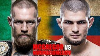 Conor McGregor vs. Khabib Nurmagomedov: Ireland vs. Russia