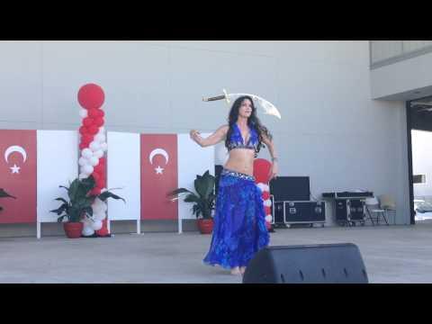 Florida Turkish American Festival sword performance