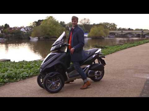 2014 Piaggio MP3 Yourban expert bike review