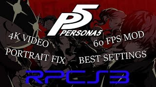rpcs3 persona 5 best settings 2019 - TH-Clip