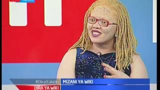 Kuangazia ulemavu wa ngozi (wahusika wa zeruzeru):Mizani ya wiki-Dira ya wiki