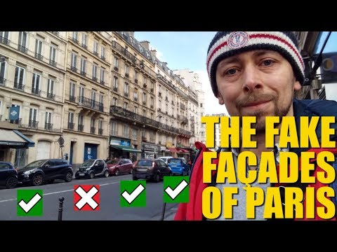 Why Does Paris Have So Many Fake Buildings?