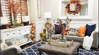 Beautiful Cozy Fall Farmhouse Style Home Tour
