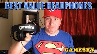 BEST HEADPHONES FOR THE MONEY: Gemini DJ HSR1000