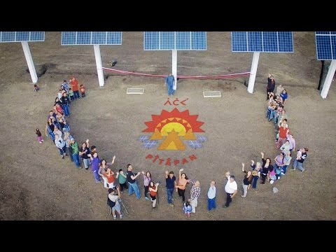 Solar In The Tar Sands - Little Buffalo Community Launches Solar Powered Health Centre