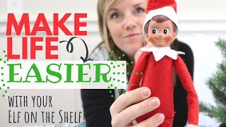 Revise your Elf on the Shelf Tradition = EASIER + More MEANINGFUL + Kids LOVE it!