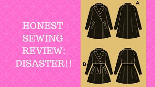 Honest Review Of The Opium Coat Sewing Pattern By Deer And Doe