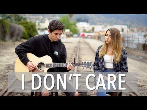 I Don't Care | Ed Sheeran & Justin Bieber | cover by Kyson Facer & Jada Facer