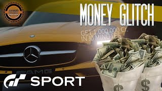 Gran Turismo Sport – Infinite Money Glitch – Get 1.000.000 Cr. in 10 Minutes!