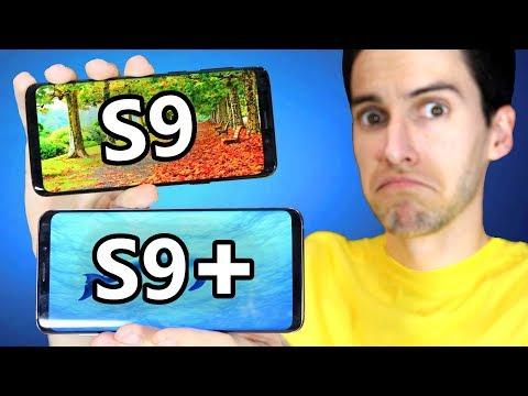 Samsung Galaxy S9 vs Galaxy S9 Plus - Cual comprar?