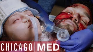 Refugees Barely Survive Fall From A Plane | Chicago Med