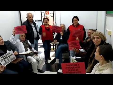 Agentes de apoio e AGPPS do Hospital Pirituba mandam o recado para Covas