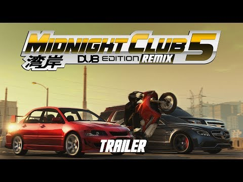 Midnight Club 5 DUB EDITION REMIX Official Trailer E3 2017 PC, XBOX ONE, PS4 (Fan Made)