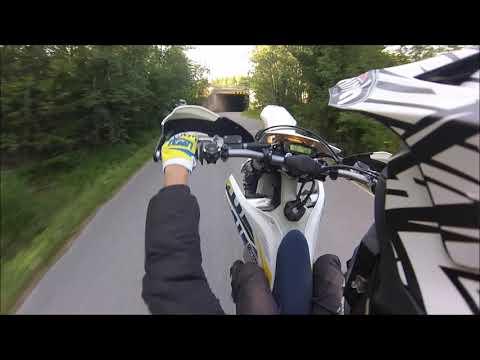 Husqvarna FE450 & KTM 525EXC supermoto Summer Ride