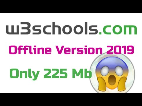 How to download W3school.Com offline fo laptop, pc and for mobile 2019 bangla tutorial by RianTechBD